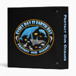 Protect Our Oceans Earth Day Binder