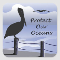 Protect Our Oceans Sticker