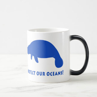Protect Our Oceans with Manatee Magic Mug