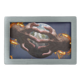 Protect our planet belt buckle