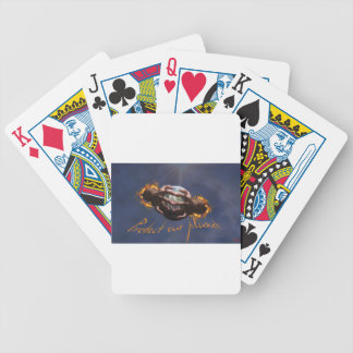 Protect our planet bicycle playing cards