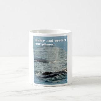 Protect our planet coffee mug