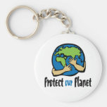Protect Our Planet Key Chain