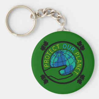 Protect Our Planet Key Chains