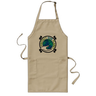 Protect Our Planet Long Apron