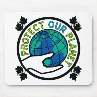 Protect Our Planet Mouse Pad