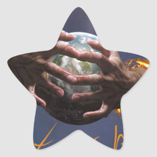 Protect our planet star sticker
