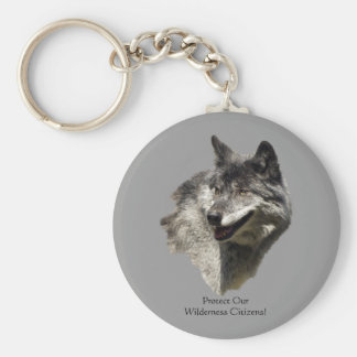 Protect Our Wilderness Citizens! Key Chain