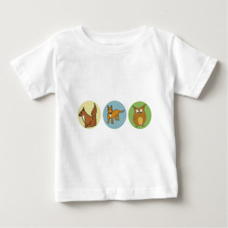 Protect our Wildlife Forest Creatures design Baby T-Shirt