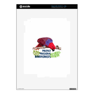 Protect Preserve Rainforests Skins For The iPad 2