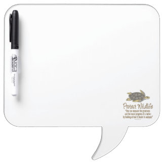 Protect Sea Turtles Dry Erase Board