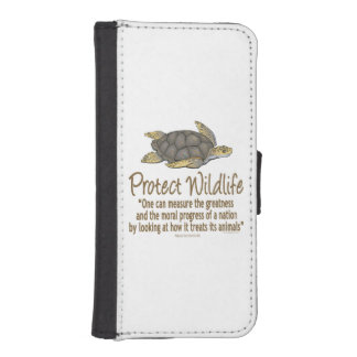 Protect Sea Turtles iPhone SE/5/5s Wallet