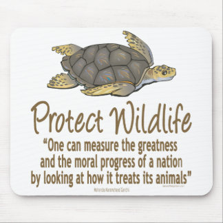 Protect Sea Turtles Mouse Pads