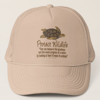 Protect Sea Turtles Trucker Hat