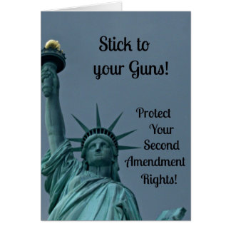 Protect Second Amendment Rights... Card
