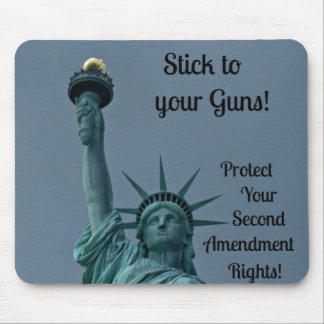 Protect Second Amendment Rights... Mouse Pad