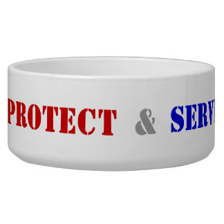 Protect & Serve Canine Dog Water Bowl