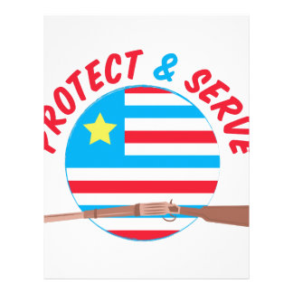 Protect & Serve Letterhead