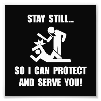 Protect Serve Photo Print