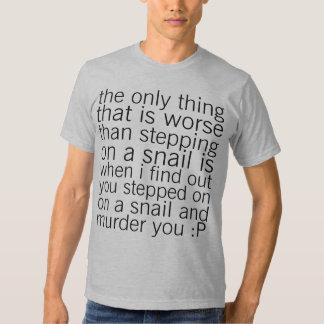 protect snails T-Shirt