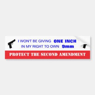Protect the 2nd Amendment Bumper Sticker