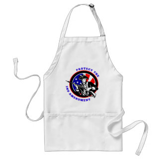 Protect The 2nd Amendment Revolution Adult Apron