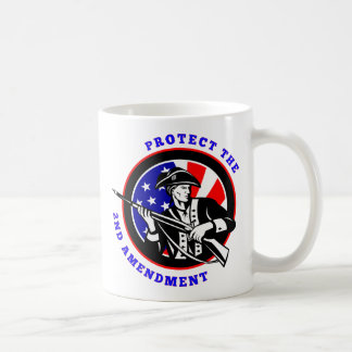 Protect The 2nd Amendment Revolution Coffee Mugs