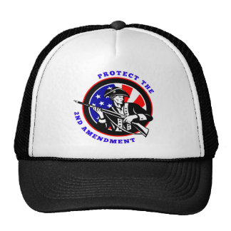 Protect The 2nd Amendment Revolution Trucker Hat