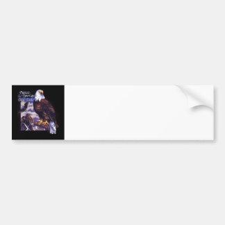 Protect The American Bald Eagle Bumper Sticker