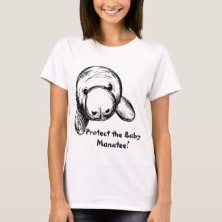 Protect the Baby Manatee! T-Shirt