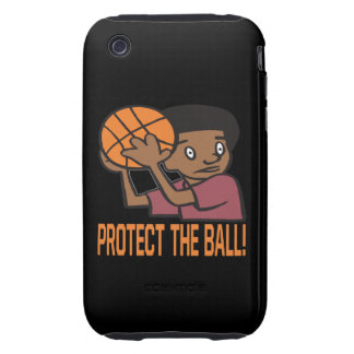 Protect The Ball iPhone 3 Tough Covers