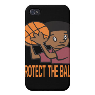 Protect The Ball iPhone 4/4S Covers