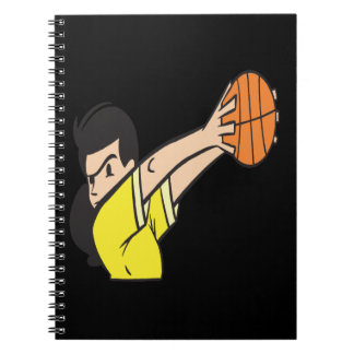 Protect The Ball Spiral Notebooks