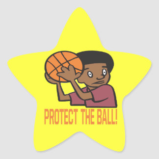 Protect The Ball Star Sticker