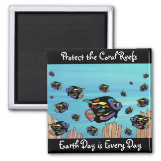 Protect the Coral Reefs Magnet