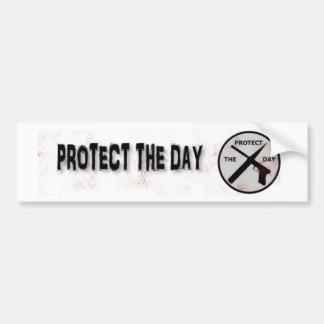 Protect The Day Bumper Sticker