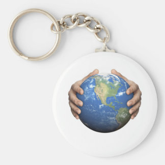 Protect The Earth Keychain