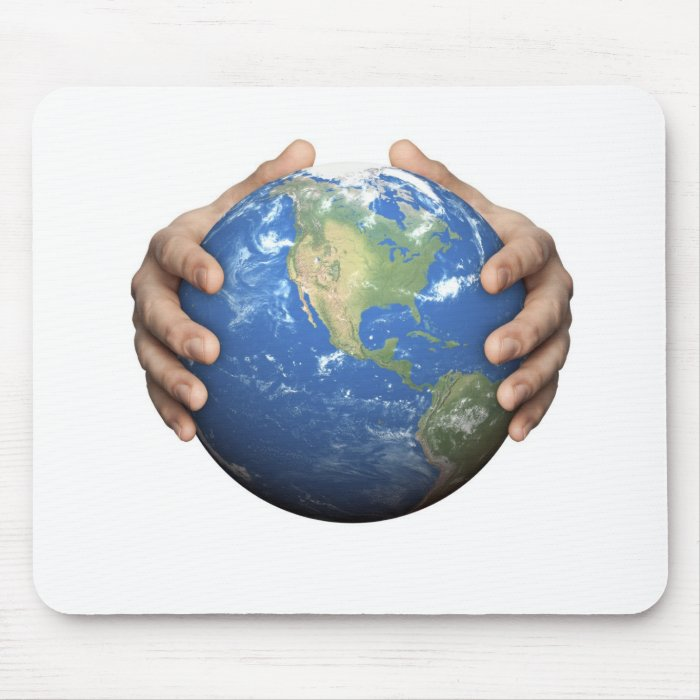 Protect The Earth Mouse Pad