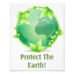 Protect The Earth Photo Print