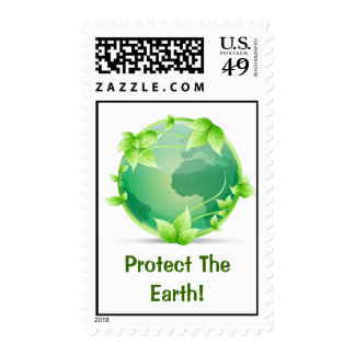 Protect The Earth Postage
