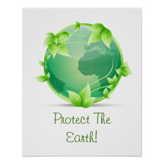 Protect The Earth Poster