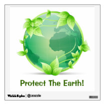 Protect The Earth Wall Sticker