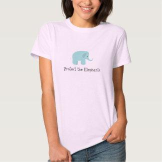 Protect  the Elephants Tee Shirt