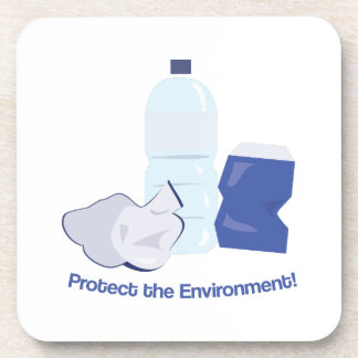 Protect The Environment Coasters