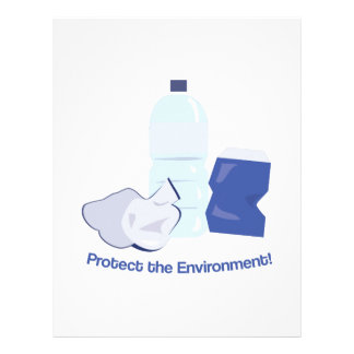 Protect The Environment Customized Letterhead