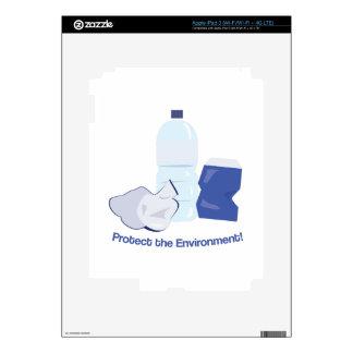 Protect The Environment iPad 3 Skin