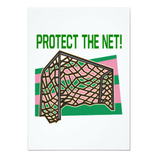 Protect The Net 5x7 Paper Invitation Card