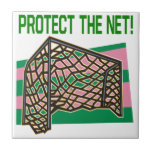 Protect The Net Ceramic Tile