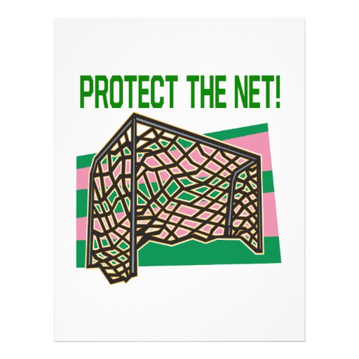 Protect The Net Personalized Flyer