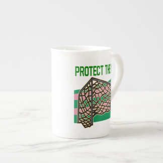 Protect The Net Tea Cup